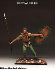 St. Petersburg European warrior RARE  Tin toy soldier 54mm