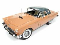 #AMM1106 - Autoworld Ford Thunderbird Convertible - 1957 - Coral Sand - 1:18