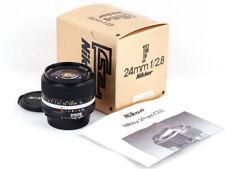 Mint- in box Nikon NIKKOR 24mm f/2.8 AIS