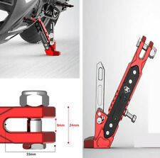 1pcs Aluminum Alloy Motorcycle Side Stand High Quality Cool Styling Fall Protect