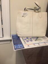 NWT Coach XL Leather Shopper Travel Tote 29429 Parchment
