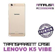 COVER TRASPARENTE LENOVO K5 VIBE A6020 CUSTODIA PROTEZIONE TPU TRANSPARENT CASE