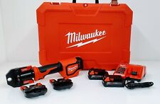 Milwaukee 2674-22C M18 Short Throw Press Tool Kit w/ PEX Crimp Jaws