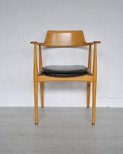 50er Ans Wilkhahn 411 armchair armlehnstuhl Chaise de bureau Hartmut Lohmeier
