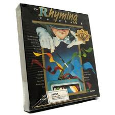 """Brand New! Amiga """"The Rhyming Notebook"""" Factory Sealed! Computer Text Software"""