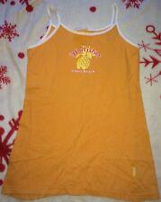 Mädchen Kleid Gr. 116/122 Orange Sommerkleid