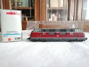 Märklin H0 3780 Locomotora Diésel 220 007-9 DB Digital OVP
