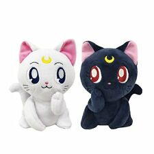 BANDAI Sailor Moon Luna Artemis Plush Nui-Mas Eternal Romance Pair Set Stuffed