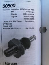 50800 oil pressure switch... MOST MAZDA TO  1986../TOYOTA TO 1989