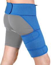 Hip Hamstring Support Groin Strain Brace Belt for Sciatica Leg Pain Relief Blue