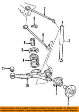 TOYOTA OEM 01-05 RAV4 Rear Suspension-Coil Spring 4823142130