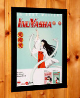 Inuyasha Anime Manga Old Rare Poster / Ad Art Artwork Framed