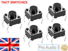 10x AKAI MPC interruttore tattile per 1000, 2000, 2000xl, 4000-TACT SWITCH - 10pcs UK