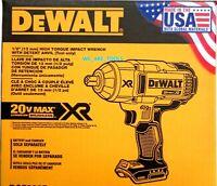 """NEW IN BOX Dewalt 20V DCF899B Brushless 700 / 1200 Lb 1/2"""" Impact Wrench 20 Volt"""