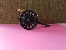 Vintage Miniature Toy Brass & Cast Iron Cannon 2