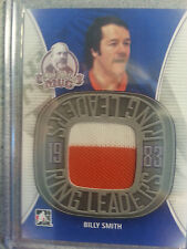 Billy Smith 2014 ITG Lord Stanley's Mug Ring Leaders GU Jersey RL-21 9 Inserted!