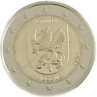 2 euro Lettonia 2016 Regioni: Vidzeme