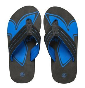 Boys Mad Wax Footwear Stylish Classic Three Point Flip Flops Sizes from 10 to 5