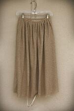 ADRIENNE VITTADINI AVANZARA Size 0/2 Vintage 1970s Wool Blend Maxi Skirt