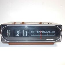 Vtg Panasonic RC-6015 Back to the Future Flip Alarm Clock AM/FM Radio TESTED