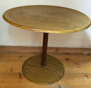 Side / Lamp / Sofa / Coffee Table . Round  table Vintage Retro Mid Century
