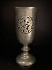 Vintage Purdue University Pewter Goblet