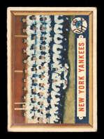 1957 Topps #97 Yankees Team VG/VGEX Yankees 400700