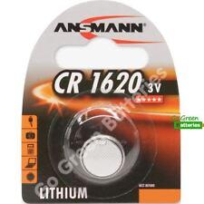 1 x Ansmann CR1620 3V Lithium Coin Cell Battery 1620 DL1620 KCR1620, BR1620