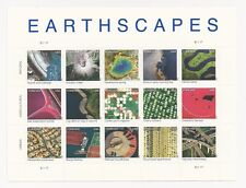 4710 Earthscapes Sheet - Pane of 15 Different Earthscape Stamps