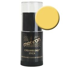 Mehron CreamBlend Stick - YELLOW - Cream Foundation,Stage Makeup,Halloween,VEGAN