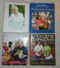 4 PAULA DEEN & THE DEEN BROS COOKBOOKS HC RECIPES Full Color PHOTOS FOOD KITCHEN