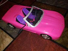 Mattel Barbie Doll Pink R/C Corvette Convertible Car 2001