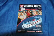 Minoan Lines Italie-Grèce car ferries 2008
