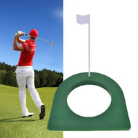 Golf Putting Green Cup Hole Flag Indoor Outdoor Training Aids Adjustable Great