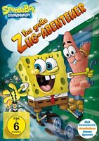 SPONGEBOB SCHWAMMKOPF: V23 DAS GROßE ZUGABENTEUER   DVD NEU