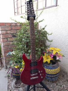 Rare Jay Turser Electric 12 String Guitar- includes Soft Case