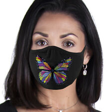 Colorful Butterfly Face Mask Reusable Washable Unisex Face Cover Usa Seller