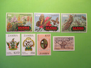 Zambia. Conservation Year Stamp + arms MNH