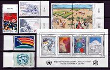 UNO - WIEN 1986 JAHRESAUSGABEN =  POSTFRISCH  Michel 55 bis 67 mit Block 2