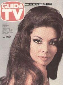 GUIDA TV 1977 N.12 GLORIA PAUL NADIA CASSINI STEVE MCQUEEN CARLA FRACCI