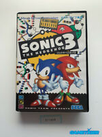 SONIC THE HEDGEHOG 3 Sega Megadrive MD JAPAN Ref:311608