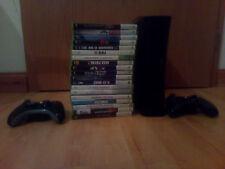 Xbox 360 250GB Festplatte inklusive 19 Spiele und 2 Controller
