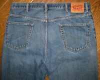 LEVI'S 550 MEN'S JEANS 40 x 30 RELAXED FIT ZIP FLY DARK WASH