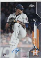 BRYAN ABREU Houston Astros 2020 Topps Chrome Certified Autograph