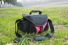 Pink Camera Bag Case For Canon EOS 600D 650D 7D 700D 60D 100D 6D M 60Da 5DMARKII