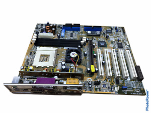 ASUS A7V133 Socket 462 REV 1.04 Motherboard w/ IO Shield Used Tested Working