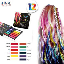 20pcs Temporary Hair Chalk Comb Hair Color Dye Salon Kits Party Fans Cosplay Set