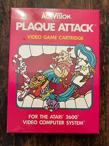 PLAQUE ATTACK by Activision for Atari 2600 NEW OLD STOCK SEALED Rare