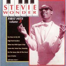 Stevie Wonder - First Hits Vol.3 - CD Dynamic 1992  Pop, Rhythm & Blues, Soul