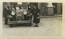 PHOTO ANCIENNE - VINTAGE SNAPSHOT - VOITURE AUTOMOBILE TACOT ROME - OLD CAR